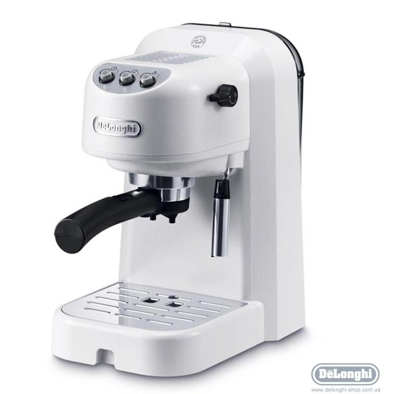 Кофеварка рожковая de'longhi ec 251 белый