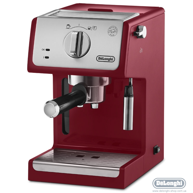 Кофеварка эспрессо delonghi ecp 33.21.r