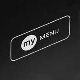 Функция «MY menu»
